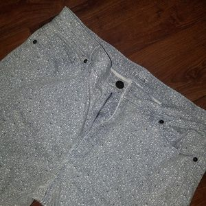 LOFT Floral Skinny Jean